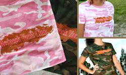 Jrs Camo T-shirts